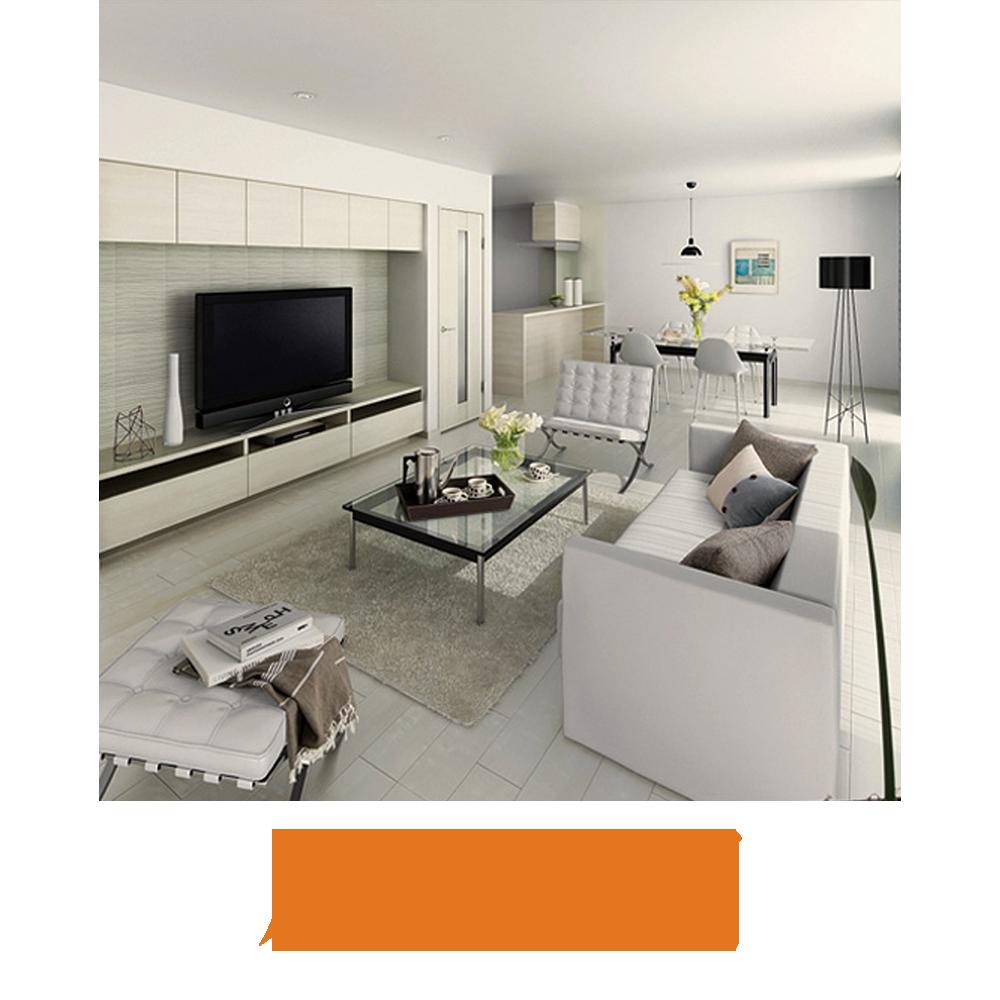 リフォーム対応箇所:居住空間