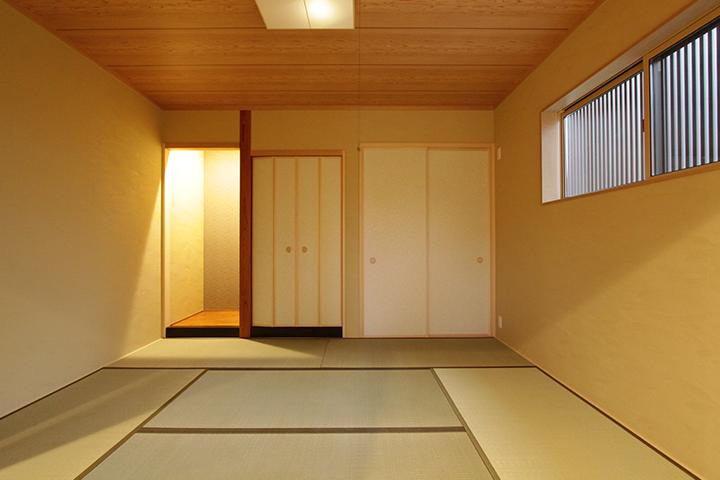 過ごしやすく上質な和室空間。